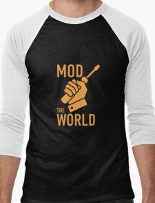 mod the world Men's Baseball ¾ T-Shirt