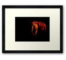 Save the Elephant Framed Print
