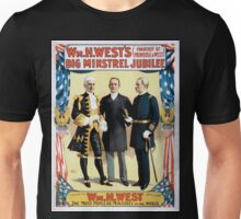 Performing Arts Posters Wm H Wests Big Minstrel Jubilee formerly of Primrose West 1763 Unisex T-Shirt