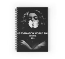 beyonce the formation world tour 2016 dolly Spiral Notebook