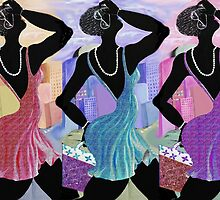 Shopper's Strut by Sharon Elliott-Thomas