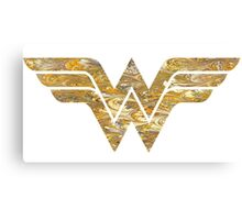 Wonder Woman Logo 05 Canvas Print