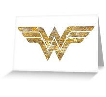 Wonder Woman Logo 05 Greeting Card