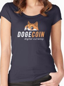 Dogecoin Nascar Women's Fitted Scoop T-Shirt