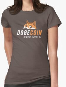 Dogecoin Nascar Womens Fitted T-Shirt