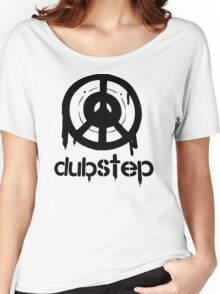 Dubstep Peace Symbol Rap Hip Hop Women's Relaxed Fit T-Shirt