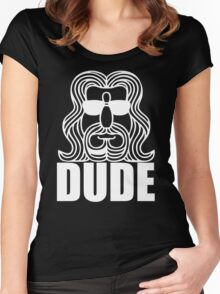 Dude Big Lebowski Women's Fitted Scoop T-Shirt