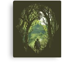 It's dangerous to go alone Canvas Print