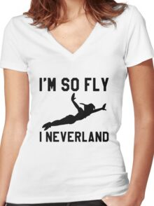 I Am So Fly Shirt Women's Fitted V-Neck T-Shirt