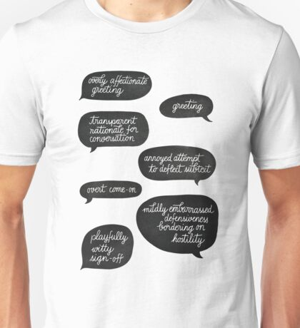 overly affectionate greeting {root & shaw - person of interest} Unisex T-Shirt