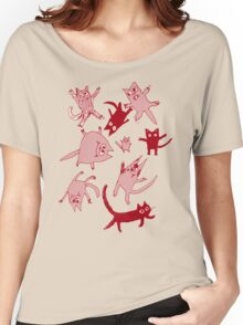 levitating kitties Women's Relaxed Fit T-Shirt