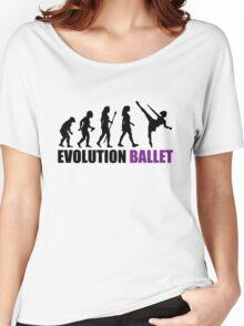 Evolution Of Ballet Women's Relaxed Fit T-Shirt