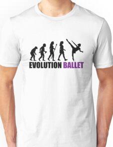 Evolution Of Ballet Unisex T-Shirt