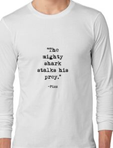 Fizz quote Long Sleeve T-Shirt