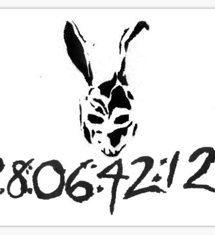 DONNIE DARKO - 28:06:42:12 Sticker