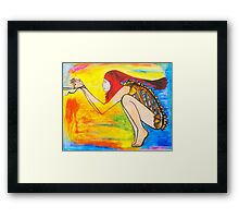 Hunger For Your Love Framed Print