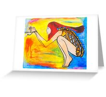 Hunger For Your Love Greeting Card