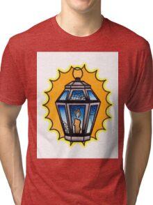 Halloween Lantern Tri-blend T-Shirt