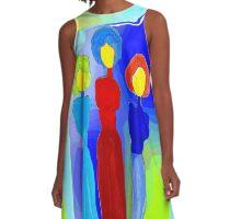 Three Sisters A-Line Dress