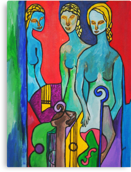 Three Muses by Ming  Myaskovsky