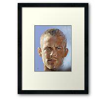 Paul Walker Framed Print
