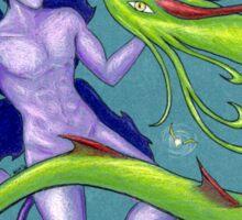 Fairy and Dragon Sticker