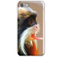 Emperor Tamarin Tongue iPhone Case/Skin