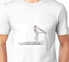 Couple Acro Yoga. Unisex T-Shirt
