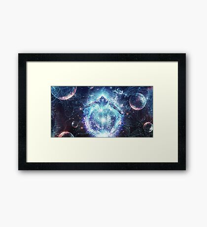 All From Nothing, We Became Something, 2012 Framed Print