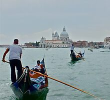 The Gondolier (2) by Hayley Musson