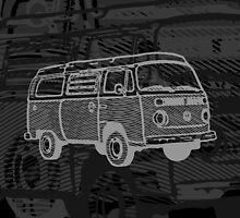 Black Silver Bay Campervan Dub-U (please see description) by Ra12