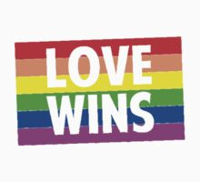 Love Wins Kids Tee