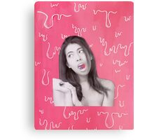 I've got the galaxy in my mouth Metal Print