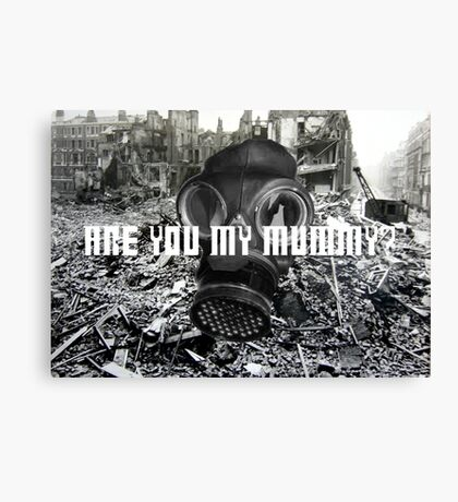 Doctor Who - Are You My Mummy? Canvas Print