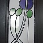 House For An Art Lover, Main Hall Door Glazing (2) by MagsWilliamson