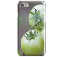 Growing Strong Tomato Photograph iPhone Case/Skin