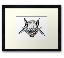 Suicide Squads Boomerang Framed Print