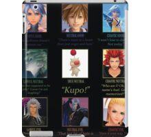 Kingdom Hearts Alignment Chart iPad Case/Skin