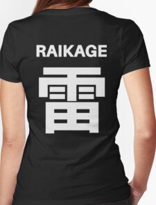 Kage Squad Jersey: Raikage Womens Fitted T-Shirt