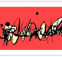 Love Splash Abstract Sticker