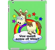 Unicorn - You Want Some of This? iPad Case/Skin