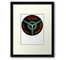 Curtiss Propeller Logo Repro Framed Print
