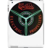 Curtiss Propeller Logo Repro iPad Case/Skin