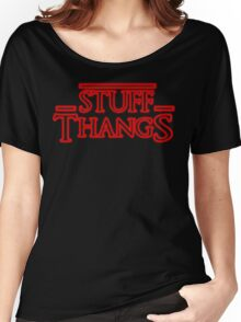 Stuff and Thangs  Women's Relaxed Fit T-Shirt