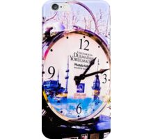 Watch marques not hours. iPhone Case/Skin