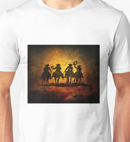 Wild West Cowboys Unisex T-Shirt