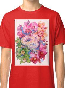 """Year of the Snake"" - Chinese Zodiac Watercolour  Classic T-Shirt"