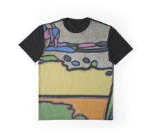 Urban Culture - Walking the Dog Graphic T-Shirt