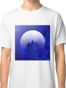Three Cobalt Peaks - Maps & Apps Series Classic T-Shirt