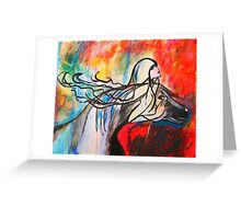 Chasing The Rain Greeting Card